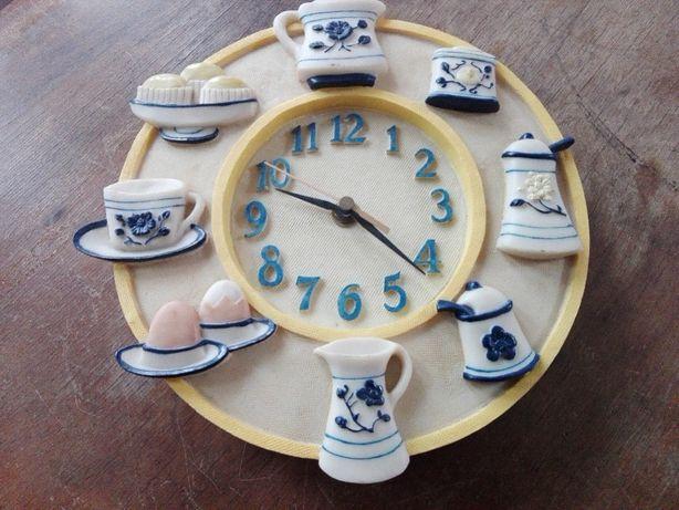 Relógios de parede em resina pintado a Mão Novo