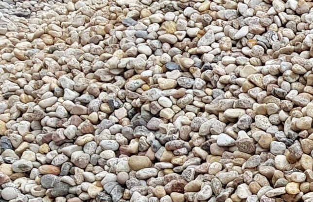 otoczak kamień ozdobny żwir 8-16 ŁADNY pod iglaki