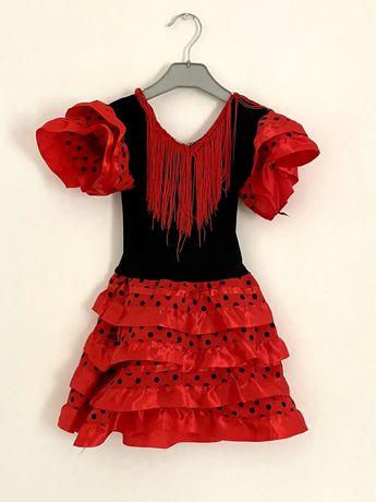 Vestido sevilhana - criança