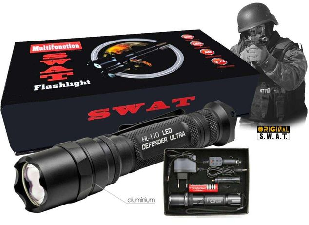 SWAT Tactical Rechargeable