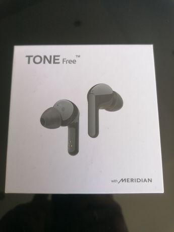 Słuchawki bezprzewodowe LG ton free fn4 black