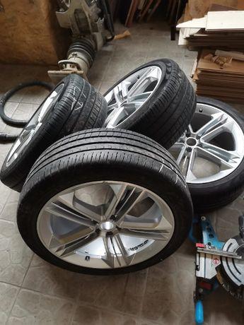"""Felgi aluminiowe 21"""" VW Touareg, Atlas, Teramont, Audi Q7, Cayenne"""
