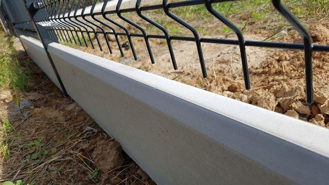 Ogrodzenie panelowe 1.5m+podmurówka grafit