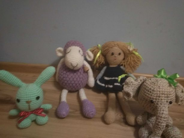 Zabawki amigurumi do domu
