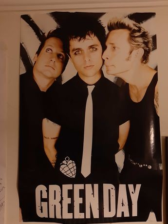 Poster banda rock Green Day