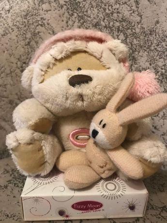 мишка  медведь мягкая игрушка  плюшевый fizzy moon