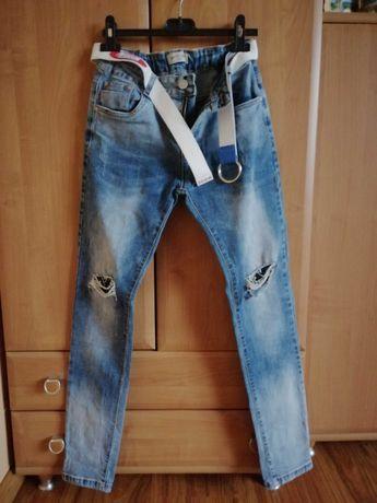 Spodnie chłopięce jeansy