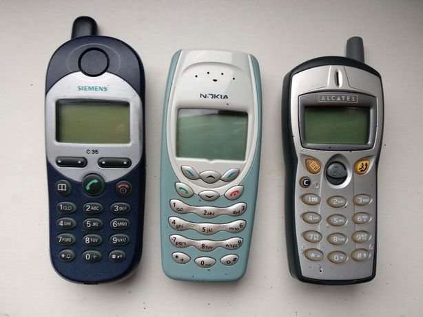 Telefony Nokia 3410 Siemens C35 Alcatel komplet