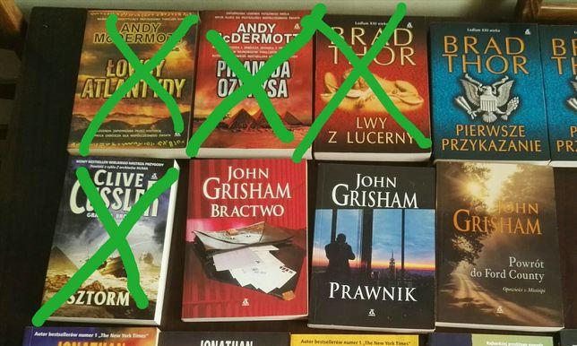 Książki różne - John Grisham, Brad Thor