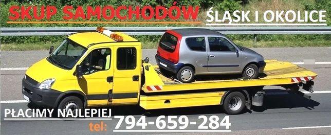 Skup aut Auto skup dojazd gratis, legalna firma, cały śląsk ZŁOMOWANIE