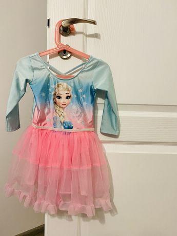 Sukienka - body baletnica hm r.110