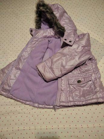 Курточка Next  на флисе 3-5 лет