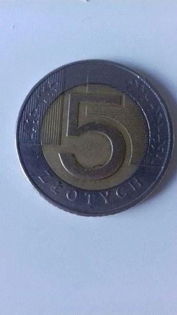 Moneta 5 zł 1994 rok