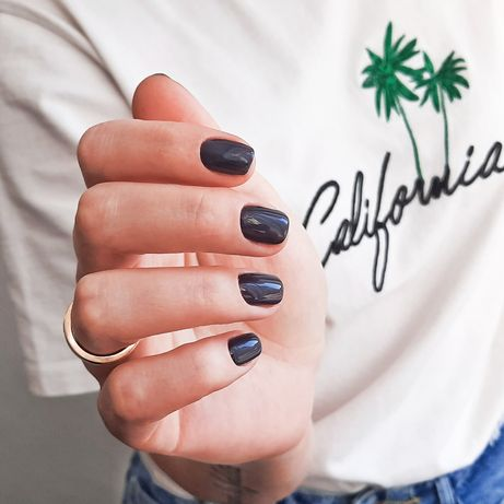 Маникюр,  наращивание ногтей,  дизайн. Французский бульвар