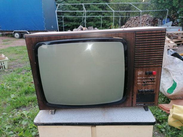 Telewizor czarno-biały UNITRA ANTARES PRL-u