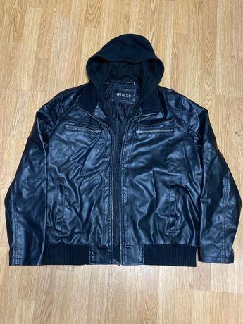 Куртка кожаная мужская Guess