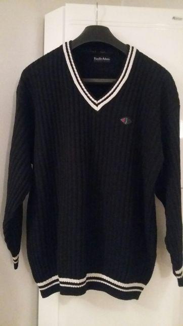 Sweter granatowy  firmy Emilia Adani