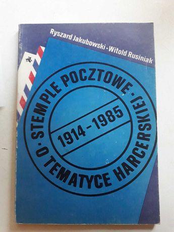 Książka Stemple pocztowe O TEMATYCE HARCERSKIEJ