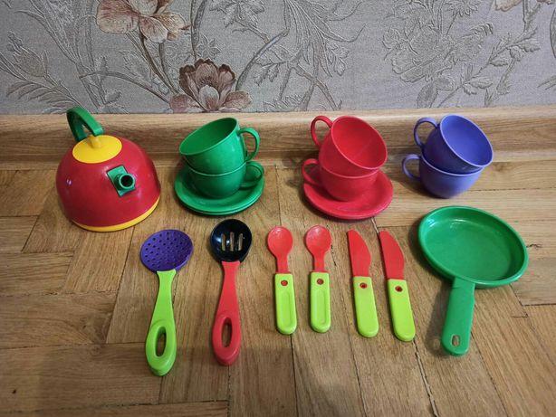 Набор Детская посудка посуда