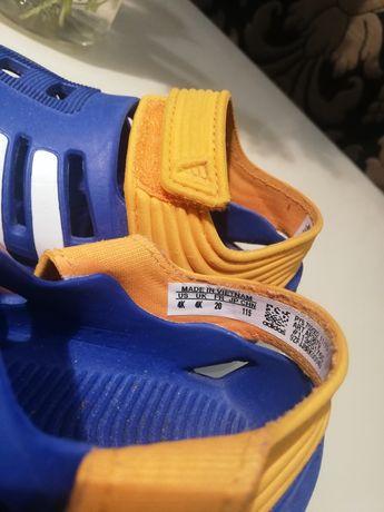 Sandałki gumowe adidas