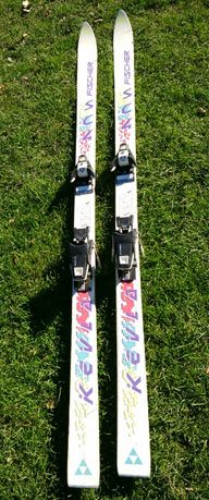 Продам гірські лижі Fischer Kevlar SC4 (180 см) з кріпленням Salomon
