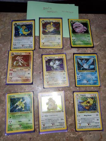 Cartas Holo Pokémon