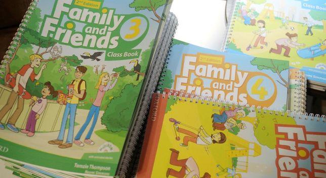 Family and friends 2ed. Друк книг, печать книг.