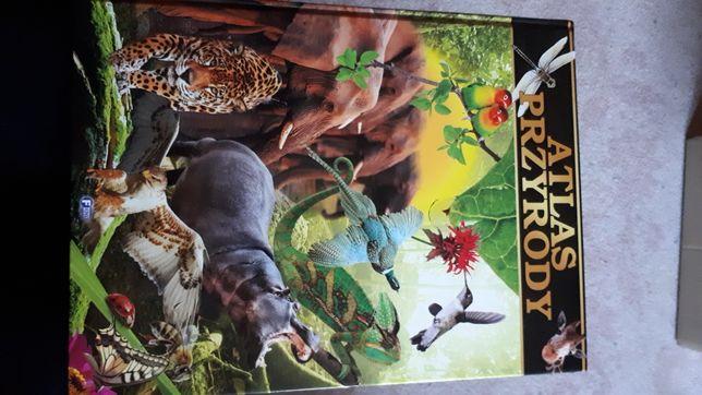 """Książka dla dzieci ,,Atlas przyrody"""""""