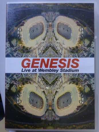 DVD - genesis ao vivo no Wembley Stadium