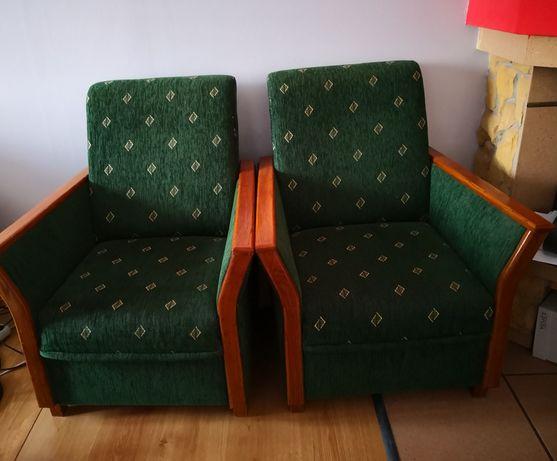 Rozkładana sofa z fotelami