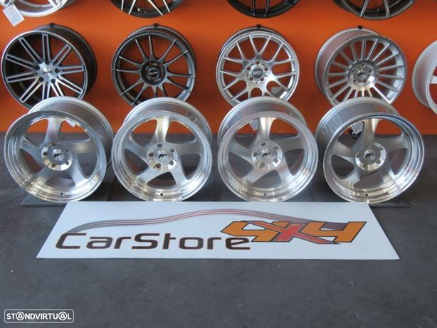 """Jantes Japan Racing JR15 17"""" 8+9 4 ou 5 Furos"""