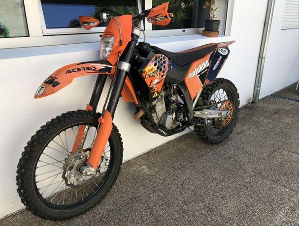 KTM sxf 250cc  2009