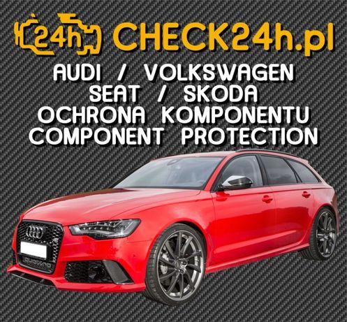Kodowanie ON-LINE Ochrona Komponentu CP OFF Audi Seat Skoda Volkswagen