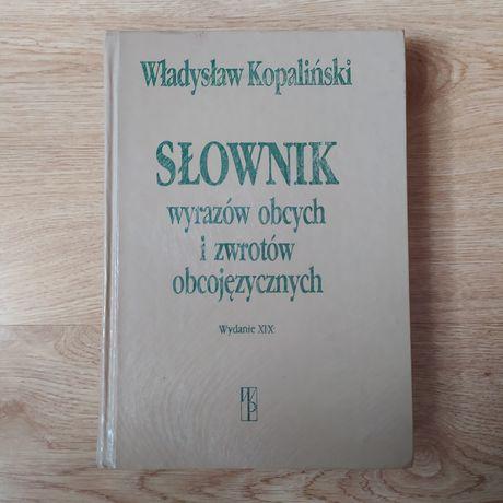 Słownik wyrazów obcych i zwrotów obcojęzycznych Władysław Kopaliński