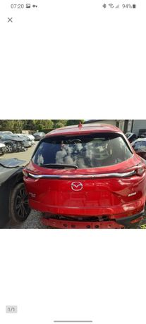 Кришка багажника на Mazda CX-9 Мазда 16-20