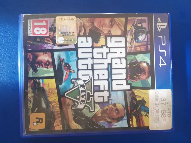 Игра GTA 5 на PS 4