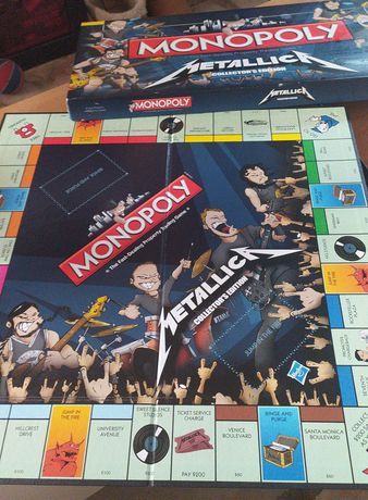 Monopólio edição Metallica