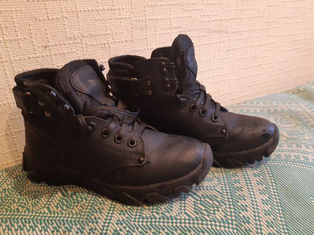 Зимние ботинки, натуральная кожа, размер 38