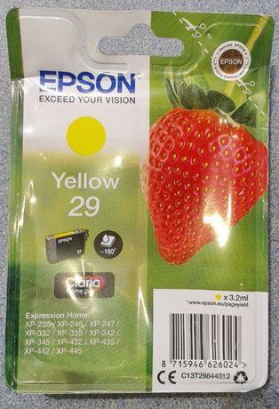 EPSON yellow 29 картридж оригинал