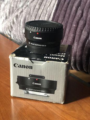 Adaptador de lentes Canon EF-EOS M
