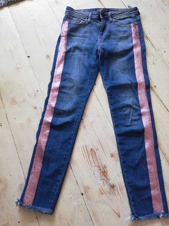 Spodnie jeansowe zara r. 34