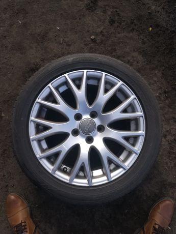 Felgi 17 BBS z oponami letnimi Audi VW. Skoda zamiana na motorynkę