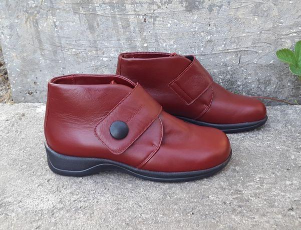 Зимние кожаные ортопедические ботинки Ladysko 36 р. Оригинал