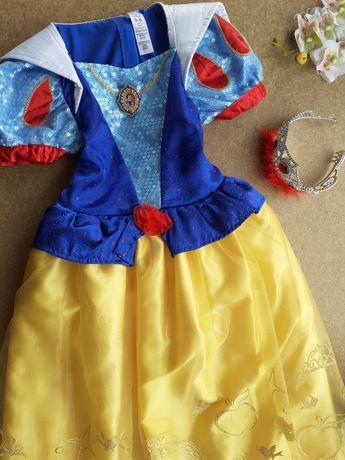 Тематическое платье 5-6 лет Белоснежка Принцесса Дисней