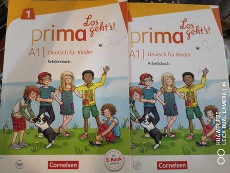 Deutsch Prima Los geht's A1 тетрадь книга CD Cornelsen німецька немецк