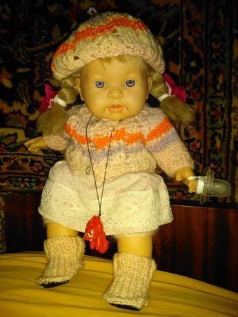 Кукла интерактивная плачет говорит liorens лиоренс Испания 43см