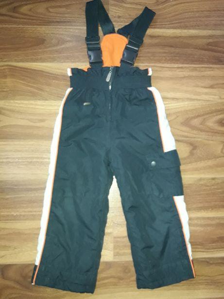 Spodnie narciarskie, ocieplane, cool club, r. 98