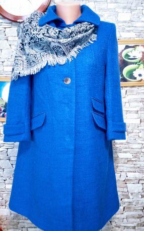 Стильное пальто с рукавом3/4.H&M.48 размер.