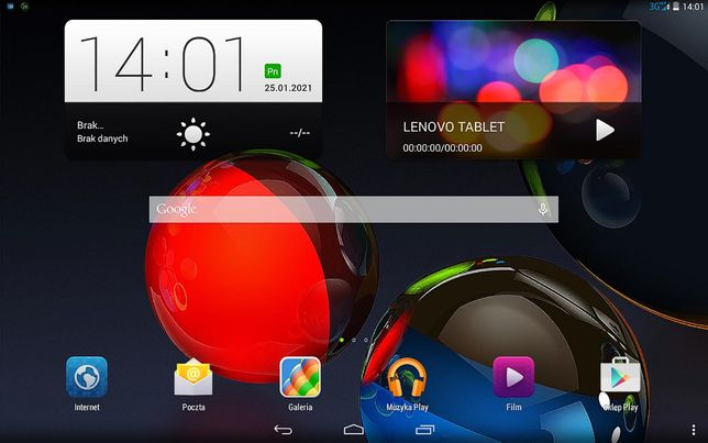 Tablet Lenovo A7600-H - 3G.