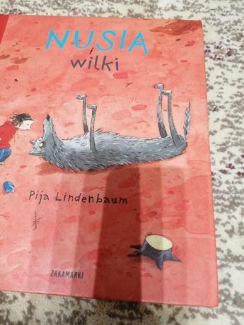 Książka Nusia i wilki